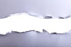 Poszarpany papierowy tło Fotografia Stock