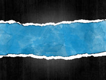 Poszarpany papierowy tło Zdjęcie Stock