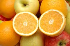 poszczególne owoce Obraz Stock