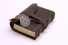 poszukiwacz przygód pamiętnika s white zdjęcia stock