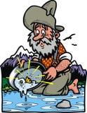 Poszukiwacz złota ilustracji