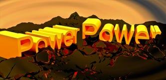 Potência Imagem de Stock