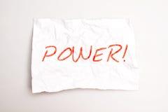 potência Imagens de Stock Royalty Free