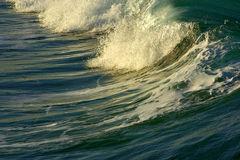 Potência da energia de onda Fotografia de Stock