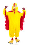 Potência da galinha Fotografia de Stock Royalty Free