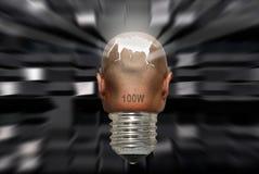 Potência da mente Fotografia de Stock Royalty Free