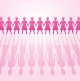 Potência da mulher Imagens de Stock