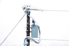 Potência da neve Imagens de Stock