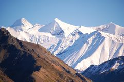 Potência das montanhas Fotos de Stock Royalty Free