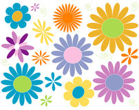 Potência de flor Fotos de Stock Royalty Free