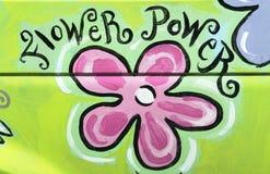 Potência de flor Imagem de Stock Royalty Free