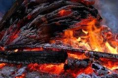 Potência de incêndio primordial foto de stock royalty free
