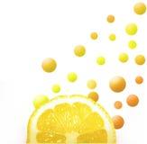 Potência do limão fotografia de stock royalty free