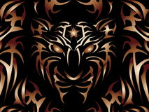 Potência do tigre! imagem de stock