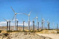 Potência do vento Fotografia de Stock