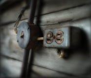 Potência e interruptor Foto de Stock