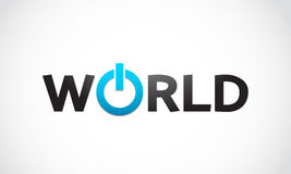 Potência mundial Imagens de Stock Royalty Free
