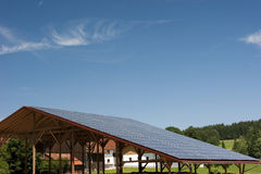 Potência Photovoltaic Foto de Stock Royalty Free