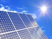 Potência solar Foto de Stock