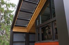 Potência solar em casa Fotos de Stock Royalty Free