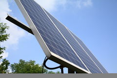 Potência solar - HK Foto de Stock