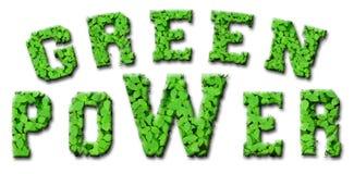 Potência verde Imagens de Stock