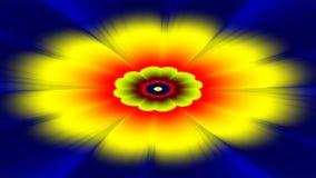 Potężna Flower power prysznic ilustracji