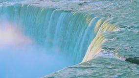Potężna rozszalała Niagara siklawa zbiory wideo