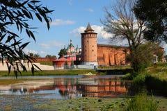 Potężne ściany Kremlin Obraz Stock