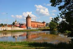Potężne ściany Kremlin Zdjęcia Stock