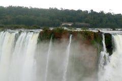 Potężny Czarci ` s gardło Iguazu Spada przy Argentyńską stroną, Argentyna Zdjęcie Stock