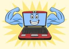 Potężny laptop Fotografia Stock