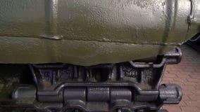 Potężny militarny zbiornik zbiory
