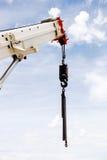 Potężny przemysłowy żuraw Fotografia Royalty Free