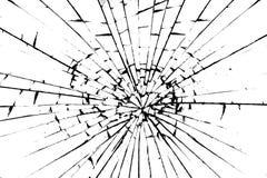 potłuczone szkło Fotografia Stock