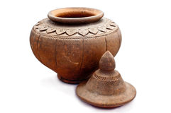 Pot antique Photo libre de droits