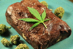 Pot Brownie 7 Stock Photos