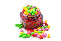 Pot of Candy stock photos