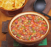 Pot of Chili Royalty Free Stock Photo