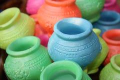 Pot Colors Royalty Free Stock Photo