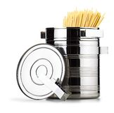 Pot for cooking spaghetti Royalty Free Stock Photo