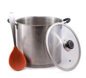 Pot courant utilisé photo stock