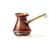 Pot de café turc illustration libre de droits
