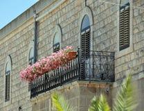 Pot de fleur de balcon Images libres de droits