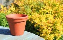 Pot de fleur de terre cuite Images stock