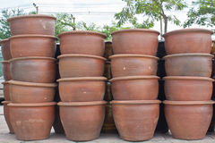 Pot de fleurs Photographie stock