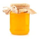 Pot de miel Photographie stock libre de droits
