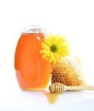 Pot de miel photo libre de droits