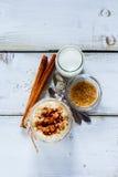 Pot de riz au lait Images libres de droits