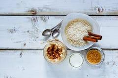 Pot de riz au lait Photographie stock libre de droits